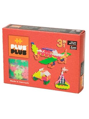 Afbeeldingen van Plus-Plus Mini 220 Neon 3 in 1 pakket