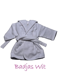 Afbeelding van Badjas 8-10 jaar geborduurd met Naam