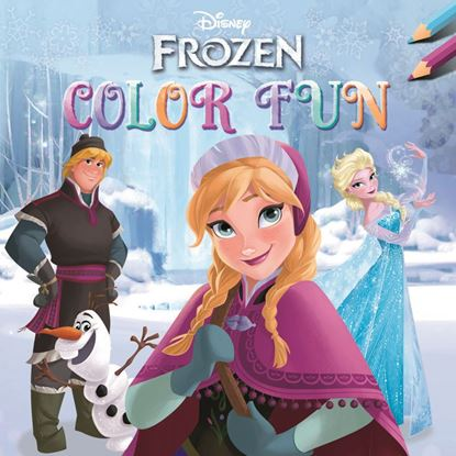 Afbeeldingen van Disney Frozen Colorfun