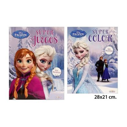 Afbeeldingen van Disney Frozen Super Color