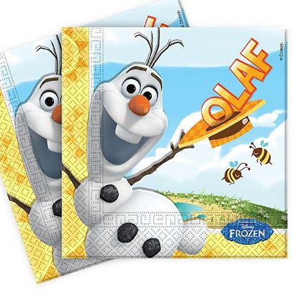 Afbeeldingen van Olaf servetten