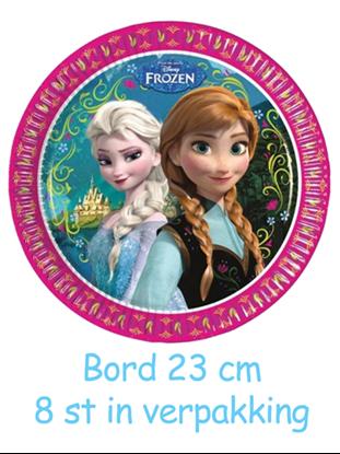 Afbeeldingen van Frozen Roze  Bordjes