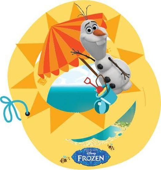 Afbeelding van Uitnodigingen Frozen Olaf