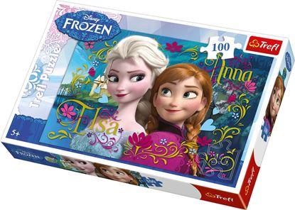 Afbeeldingen van Disney Frozen Puzzel 100