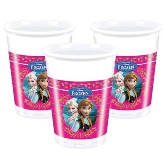 Afbeelding van Frozen roze Bekertjes