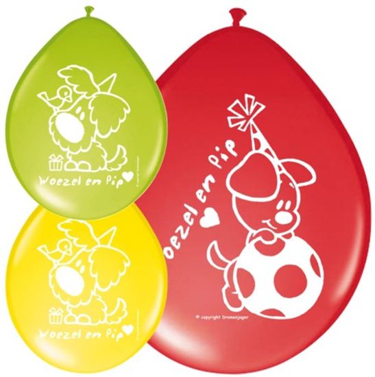Afbeelding van Woezel en Pip Ballonnen