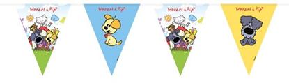 Afbeeldingen van Woezel en Pip Vlaggenlijn