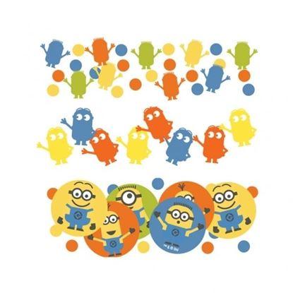 Afbeeldingen van Confetti Minions (Despicable Me)