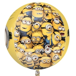 Afbeelding van Heliumballon 2 Minions (Despicable Me)
