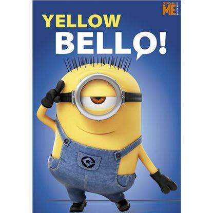 Afbeeldingen van Minions Fleece deken Yellow