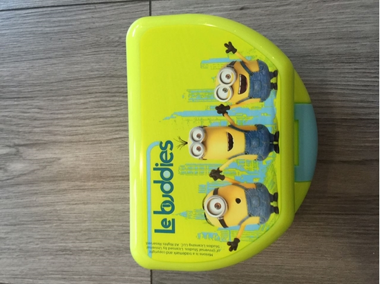 Afbeelding van Bakje (Lunch/Fruit) Minions (Despicable Me) Le buddies