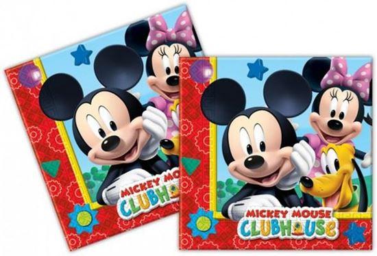 Afbeelding van Servetten Mickey Mouse