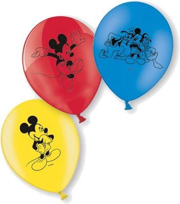 Afbeeldingen van Ballonnen 10 st. Mickey Mouse