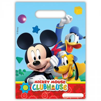 Afbeeldingen van Uitdeelzakjes Mickey Mouse