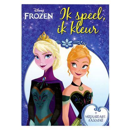 Afbeeldingen van Disney Frozen ik speel, ik kleur