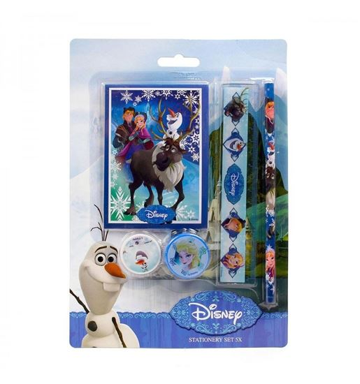 Afbeelding van Disney Frozen stationery set 5 delig