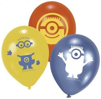 Afbeeldingen van Ballonnen Minions (Despicable Me)