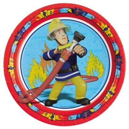 Afbeeldingen van Bordjes Brandweerman Sam