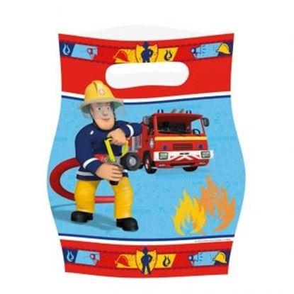 Afbeeldingen van Uitdeelzakjes Brandweerman Sam
