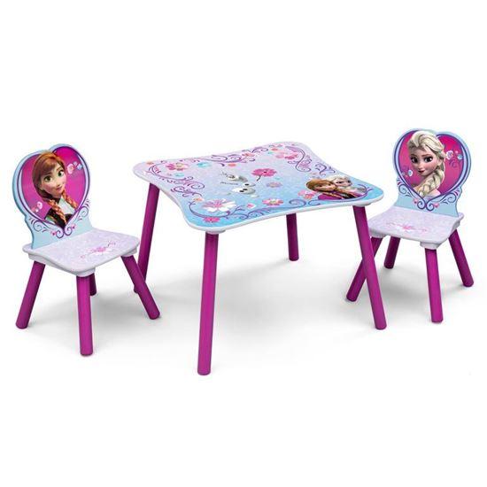 Afbeelding van Tafel met 2 stoelen Disney Frozen