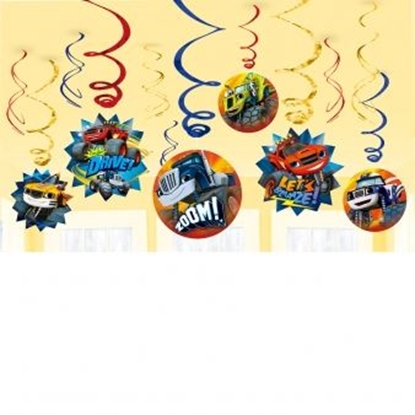 Afbeeldingen van Blaze en de Monsterwielen Hangdeco