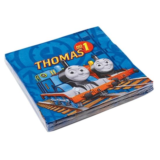 Afbeelding van Thomas servet blauw