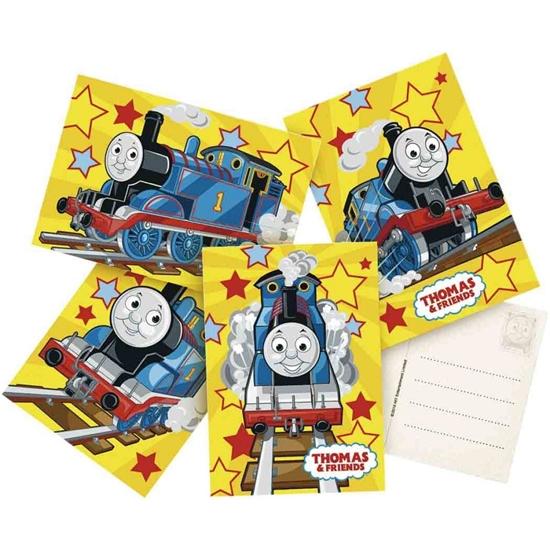 Afbeelding van Thomas uitnodigingen geel