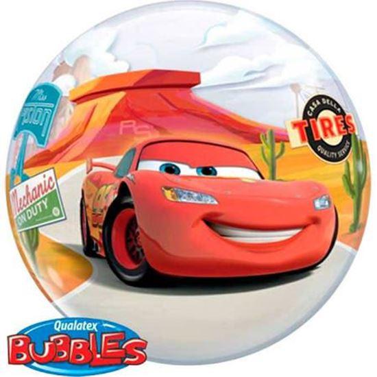 "Afbeelding van Bubble ballon Cars 22"""