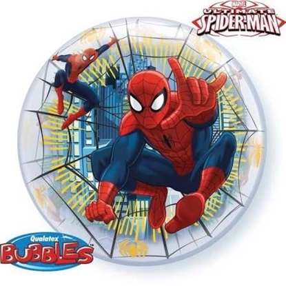 Afbeeldingen van Bubble ballon Spiderman 22""