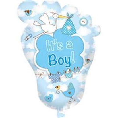 Afbeeldingen van Folie ballon XL It's a boy