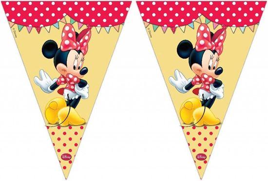 Afbeelding van Vlaggenlijn Minnie Mouse