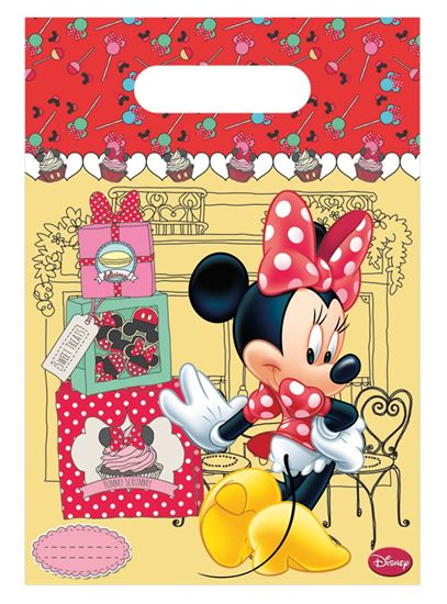 Afbeelding van Uitdeelzakjes Minnie Mouse