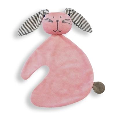 Afbeeldingen van Tutdoek konijn roze