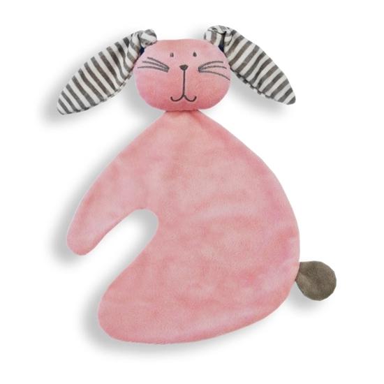 Afbeelding van Tutdoek konijn roze