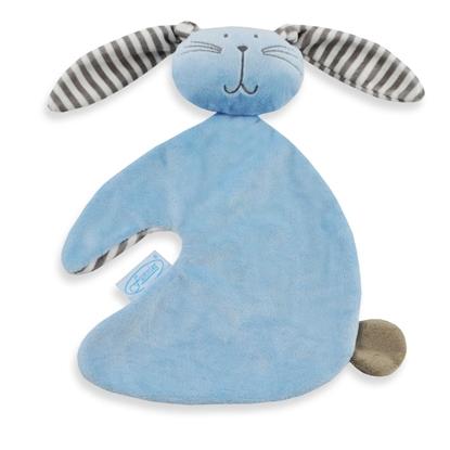 Afbeeldingen van Tutdoek konijn blauw