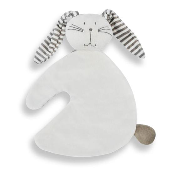 Afbeelding van Tutdoek konijn wit