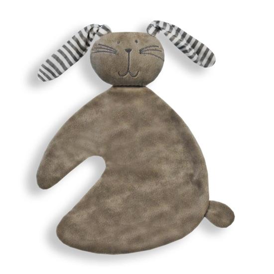 Afbeelding van Tutdoek konijn grijs