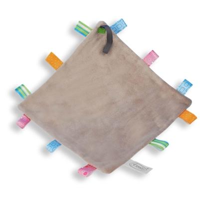 Afbeeldingen van Labeldoek speen grijs