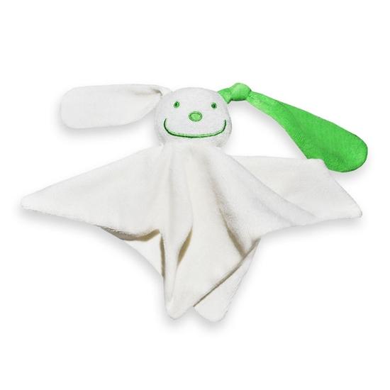 Afbeelding van Tutpop met gekleurd oor groen