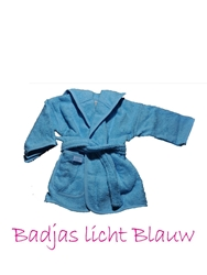 Afbeelding van Badjas 0-12 maanden Uni color