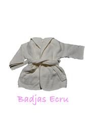 Afbeelding van Badjas 4-6 jaar Uni color