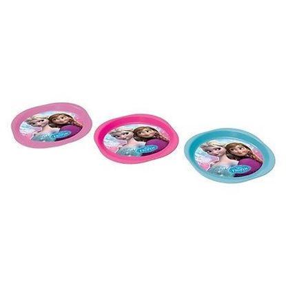 Afbeeldingen van Borden plastic Disney Frozen