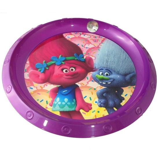 Afbeelding van Trolls bord plastic
