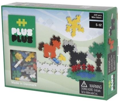 Afbeeldingen van Plus-Plus Mini 220 Basic 3 in 1 Paarden