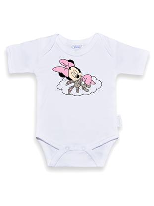 Afbeeldingen van Romper baby minnie roze