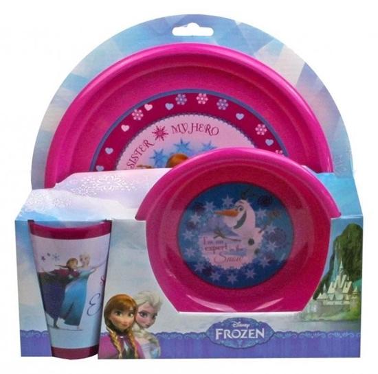 Afbeelding van Disney Frozen Servies plastic 3 delig