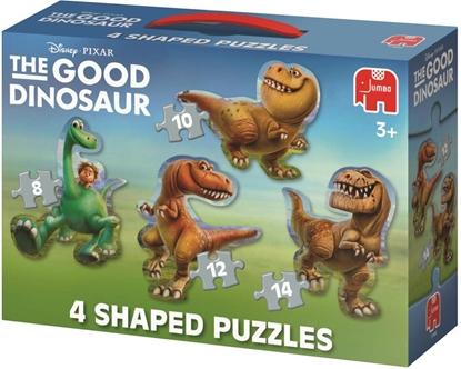 Afbeeldingen van The Good Dinosaur puzzel 4 in 1