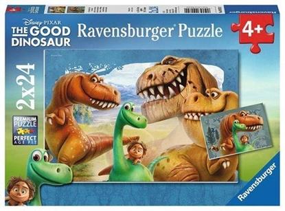 Afbeeldingen van The Good Dinosaur puzzel 2x24