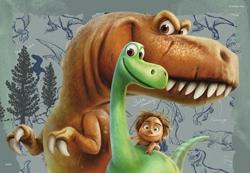 Afbeelding van The Good Dinosaur puzzel 2x24