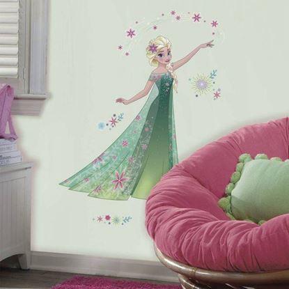 Afbeeldingen van Muursticker Frozen Fever RoomMates: Elsa